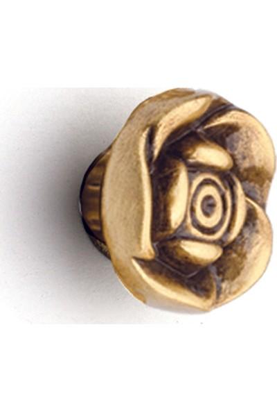 Umut 272 Gül Antik Düğme Kulp