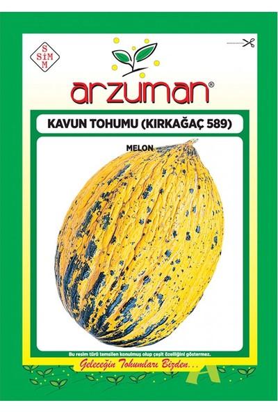 Mutbirlik Yöresel Kırkağaç 589 Kavun Tohumu-25 Gram