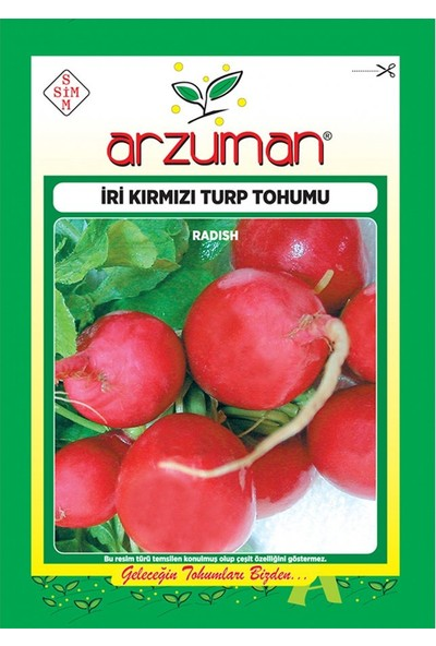 Mutbirlik İri Kırmızı Antep Turp Tohumu-25 Gram