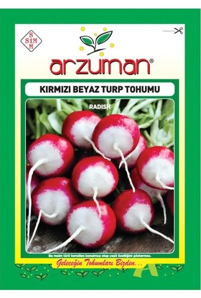 Mutbirlik Kırmızı Beyaz Fındık Turp Tohumu-10 Gram