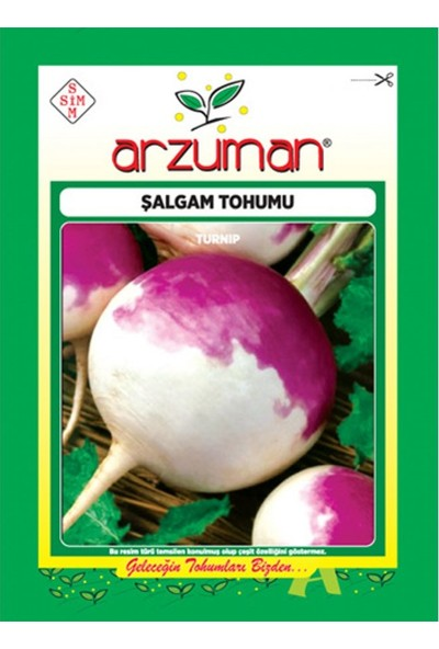 Mutbirlik Doğal Şalgam Tohumu-10 Gram