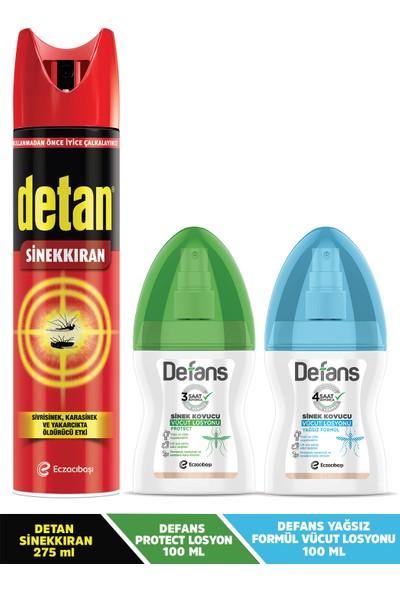 Detan & Defans 3'lü Avantaj Paketi