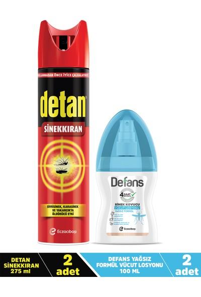 Detan & Defans 4'lü Avantaj Paketi