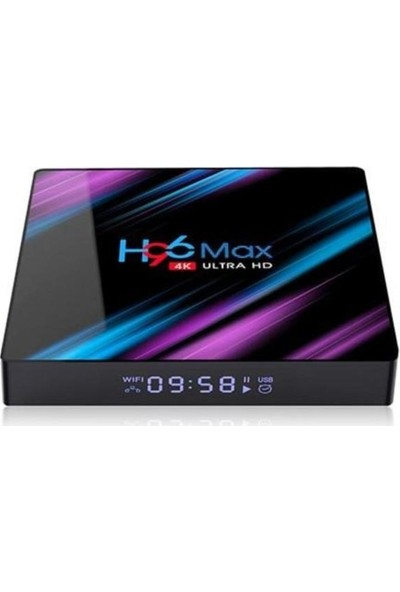 Wechip H96 Max 4K Android 9.0 Tv Box 4gb Ram 64GB Rom