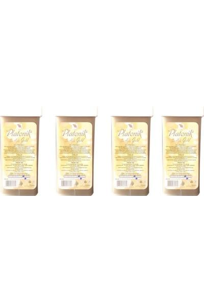 Platonik Kartuş Ağda Altın Gold 100 ml x 4 Adet