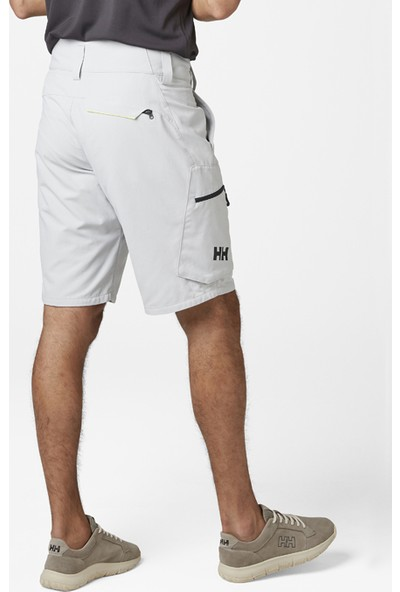 Hh Crewlıne Cargo Shorts HHA.33937 HHA.853 Grey Fog Şort