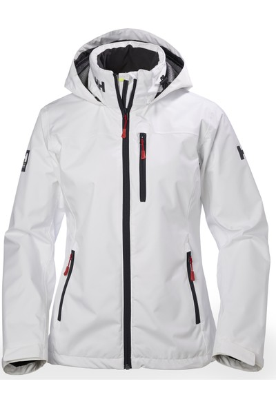 Hh W Crew Hooded Jacket HHA.33899 HHA.001 White Mont / Kaban