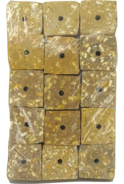 Haki Sazan Balık Avı Delikli Mısır Küspesi 80GR Küp Sazan Küspesi 15LI