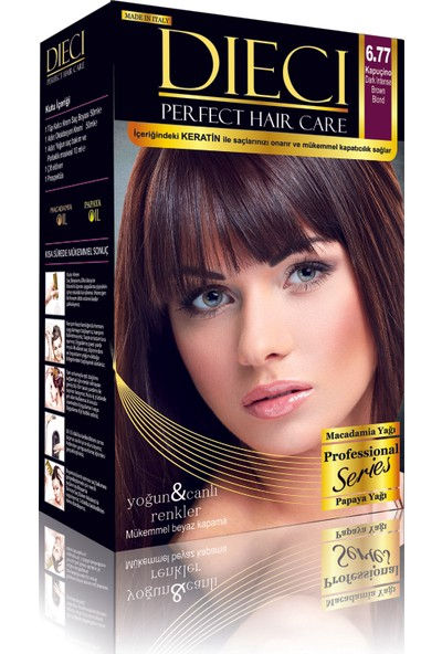 Dieci Perfect Hair Kit Boya 6/77 Cappuccino 2'li