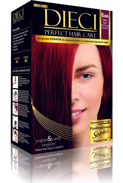 Dieci Perfect Hair Kit Boya 6/666 Yakut Kızılı 2'li