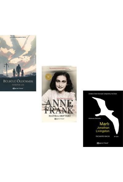Bülbülü Öldürmek - Martı Jonathan Livingston - Anne Frank'ın Hatıra Defteri -