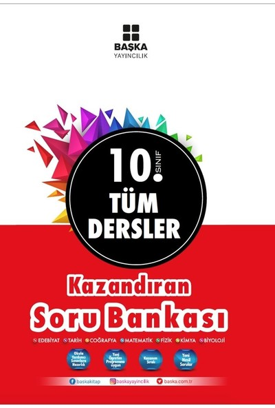 Başka Yayınları 10. Sınıf Tüm Dersler Soru Bankası