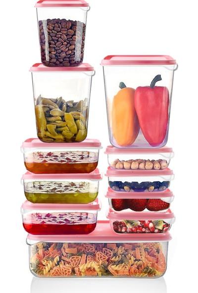 Queen'S Kitchen 22 Parça Plastik Full Saklama Takımı