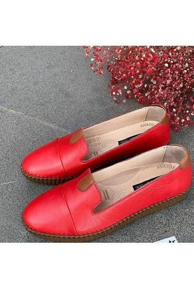Sancar Ayakkabı Günlük Deri Kadın Ayakkabı