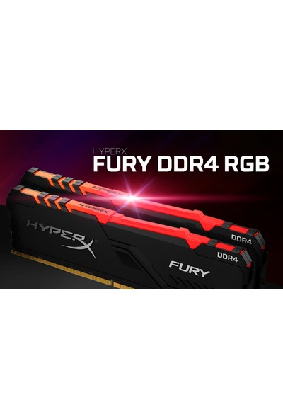Kingston HyperX Fury RGB 16GB 3200MHz DDR4 Ram HX432C16FB3A/16