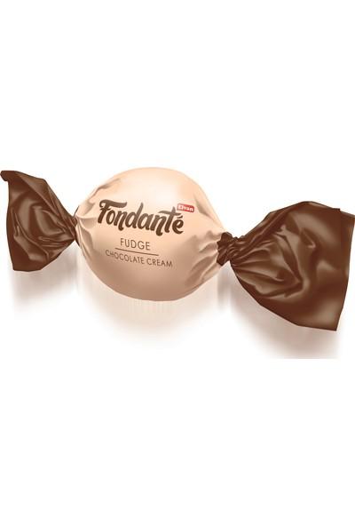 Elvan Fondante Fudge Çikolata Kremalı 400 gr 1 adet silindir