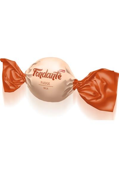 Elvan Fondante Sütlü Fudge 400 gr 1 adet silindir