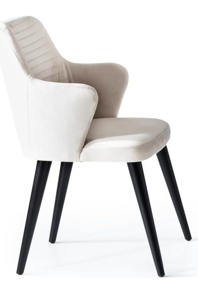Berrak Mobilya Nero Sandalye Siyah