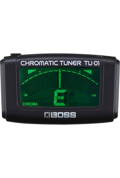 Boss Tu-01 Clip-On Chromatic Tuner Akort Aleti
