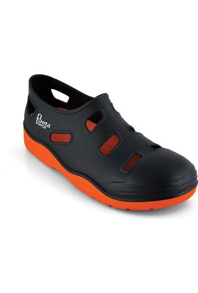 Beta Force Btf 100 Çelik Burun Sandalet İş Ayakkabısı Turuncu-Ağca Ayakkabı No: 40