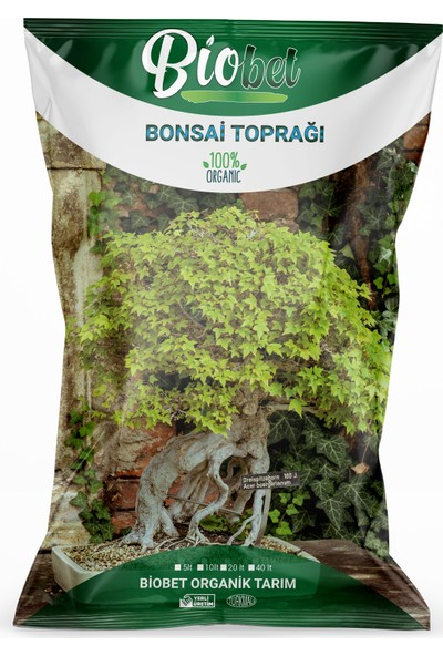 Biobet Bonsai Toprağı 40 lt