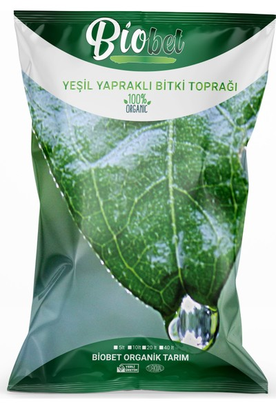 Biobet Yeşil Yapraklı Bitki Toprağı 20 lt