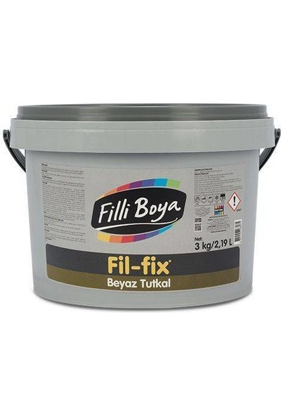 Filli Boya Fil-Fix® Beyaz Tutkal 3 kg