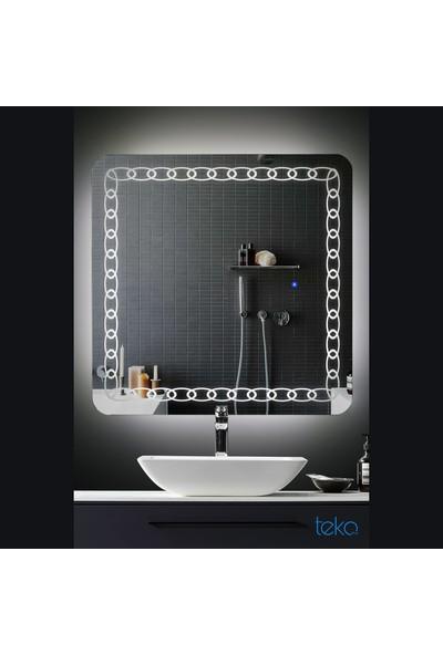 Tekoplus Tk628 Led Işıklı Banyo Aynası 60X80 cm