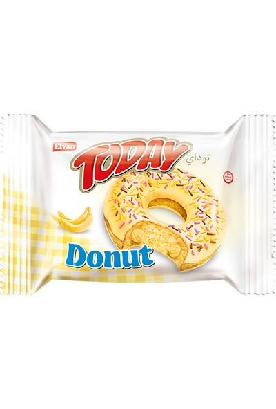 Elvan Today Donut Kek Muzlu 50 gr 24 adet (1 Kutu)