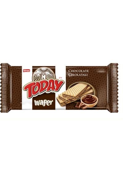 Elvan Today Gofret Çikolatalı 130 Gr 20 Adet (1 Koli)