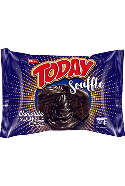 Elvan Today Sufle Kek Kakao Kremalı 50 Gr. 24 adet (1 Kutu)