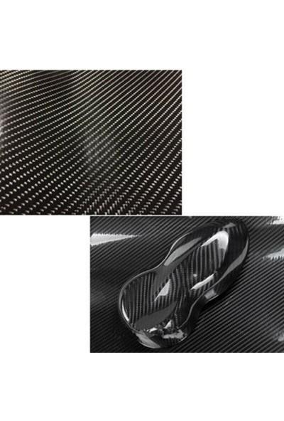 Newdizayn 6d Karbon Folyo Parlak 40 cm x 1 m
