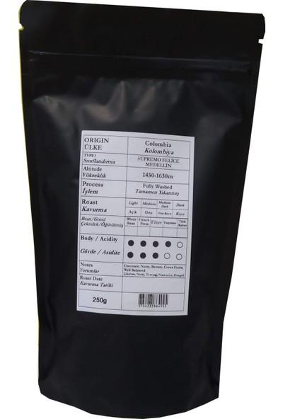 Profusion Coffee Single Origin Colombia Medellin 250 gr Kağıt ve Metal Filtre