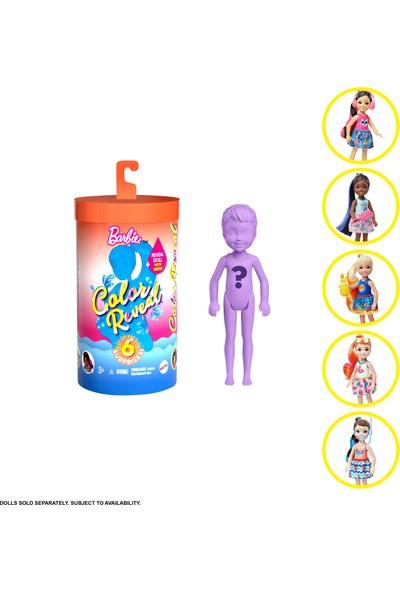 Barbie Color Reveal Renk Değiştiren Sürpriz Chelsea Bebekler Seri 2 GTP52