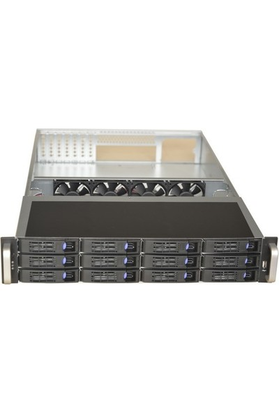 TGC 2112-6ST 2u 12X Hotswap Server Kasa