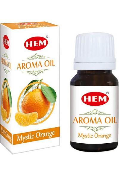 Hem Aroma Oil Mystic Orange / Portakal Uçucu Yağı Buhurdanlık Kokusu