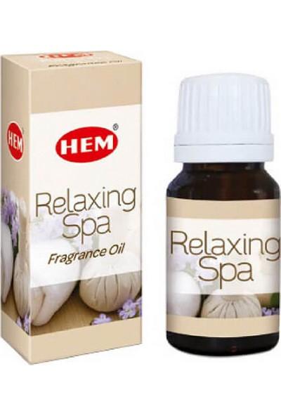 Hem Aroma Oil Relaxing Spa / Relaxing Spa Uçucu Yağı Buhurdanlık Kokusu