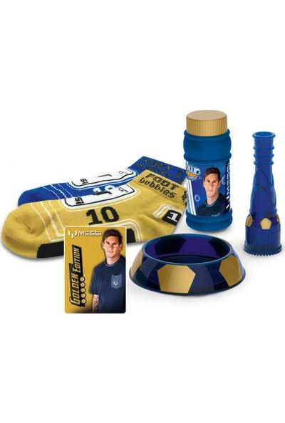 Messi Footbubbles Golden Edition Set