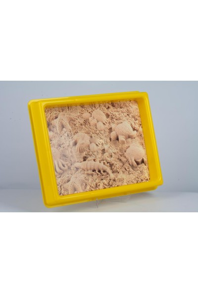 Heroes 3D Kalıplı Orman Hayvanları Kinetik Kum Set 1000 gr KUM-038