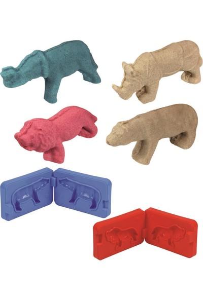 Heroes 3D Kalıplı Orman Hayvanları Kinetik Kum Set 500 gr KUM-034