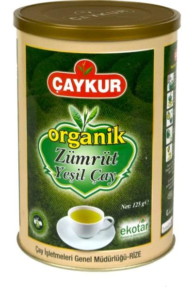 Çaykur Organik Zümrüt Yeşil Çay 125 gr 6'lı