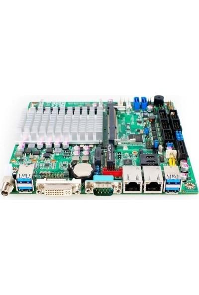 IPC NF591-N3150 SoC 1333 MHz DDR3 FCBGA1170 Pin Mini ITX Anakart
