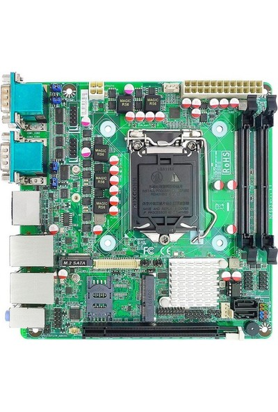 IPC NF693-H110 Intel H110 Chipset 2133 MHz DDR3 Dahili İşlemci Mini ITX Anakart