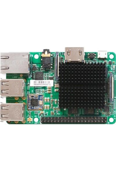 Jetway ARM-R3288A-DG2N ARM 1333 MHz DDR3 Dahili İşlemci Mini ITX Anakart