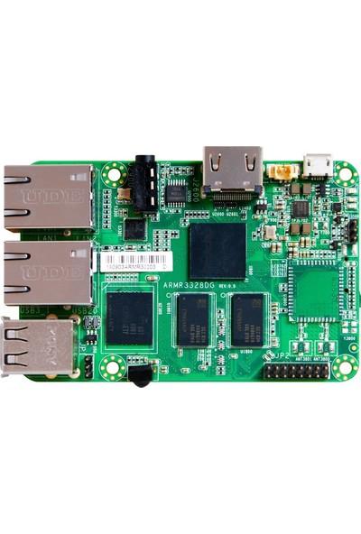 Jetway ARM-R3328-DG2NL ARM 1333 MHz DDR3 Dahili İşlemci Mini ITX Anakart