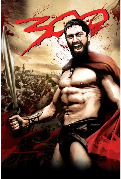 300 (2007) 50 x 70 Poster