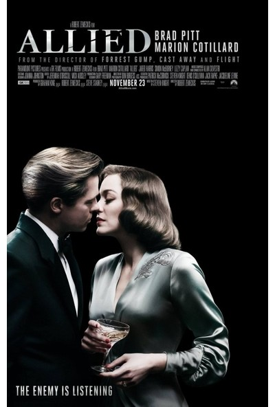 Allied (2016) 50 x 70 Poster