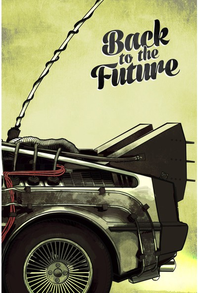 Back to the Future (1985) 50 x 70 Poster