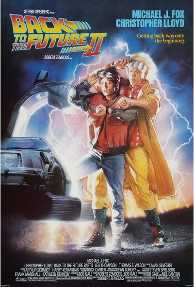 Back to the Future Part II (1989) 50 x 70 Poster