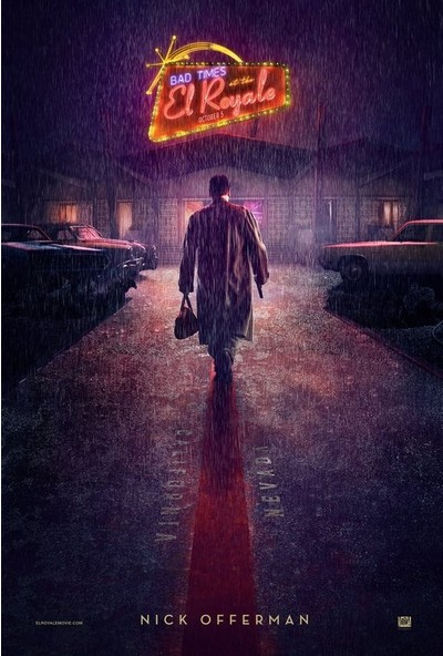 Bad Times at the El Royale (2018) 50 x 70 Poster